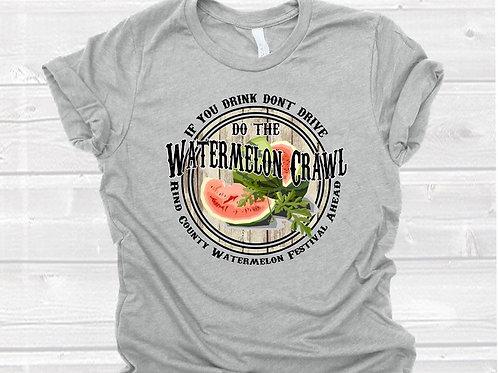 Watermelon Crawl (round)