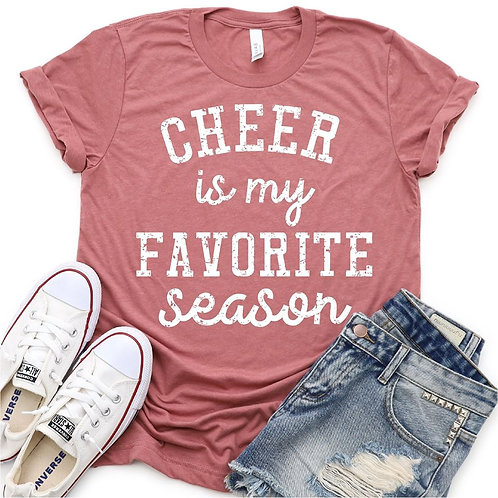 Cheer is my favorite season (distressed)