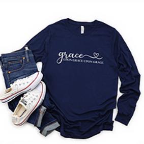 Grace upon grace upon grace