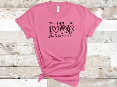 I am loved John 3:16