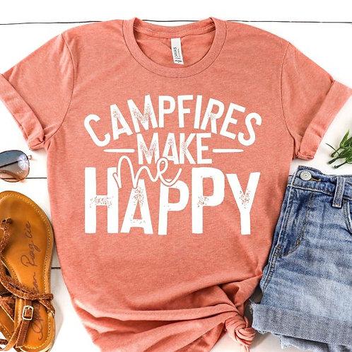 Campfires Make me Happy