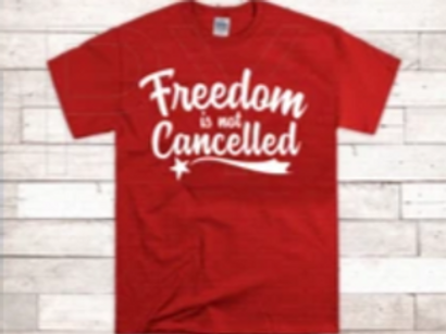 Freedom is not cancelled
