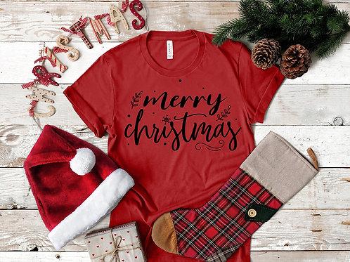 Merry Christmas (black ink)