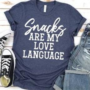 Snacks are my love language