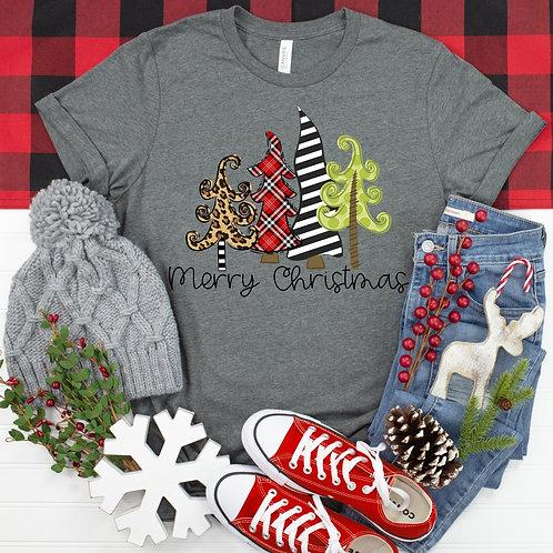 Merry Christmas (funky cute trees)