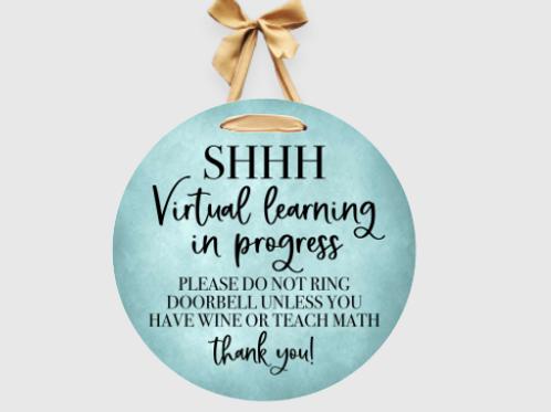 Shh Virtual Learning in progress