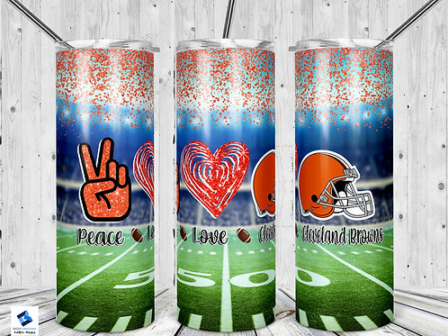 Peace Love Cleveland Browns
