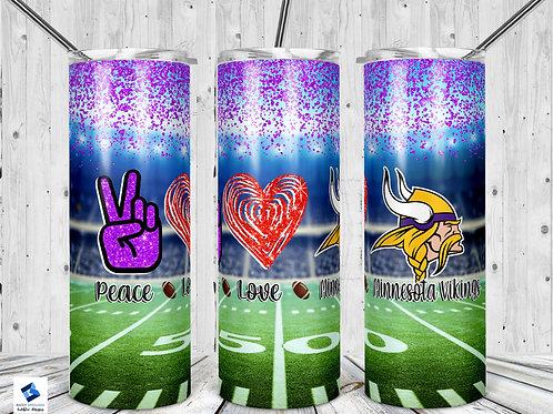 Peace Love Vikings