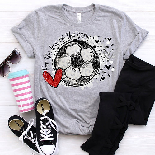 For the love of the game (soccer)