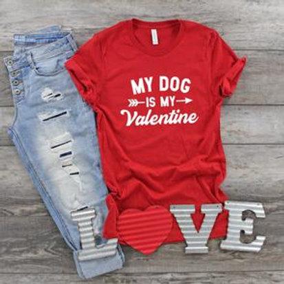 My dog is my Valentine