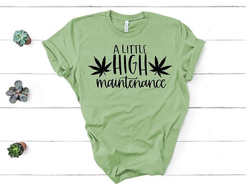 A little high maintenance