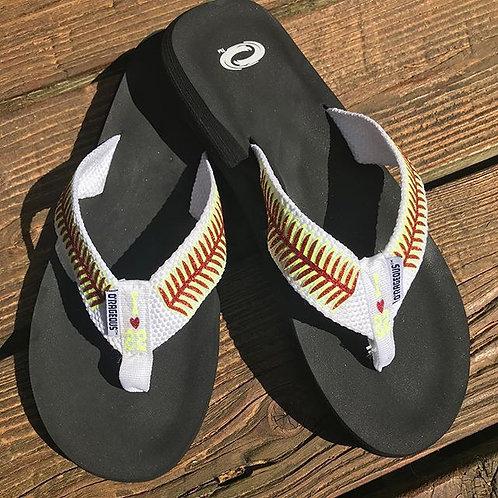 Baseball/Softball Flip Flops