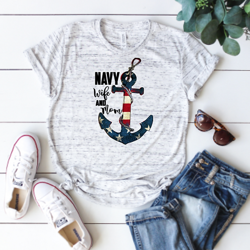 Navy Anchor (sublimation)