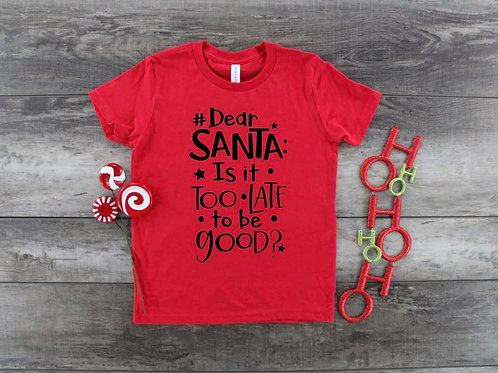 Dear Santa, Is it too late to be good? (YOUTH)