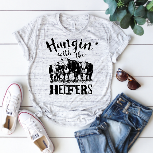 Hangin' with the heifers (sublimation)