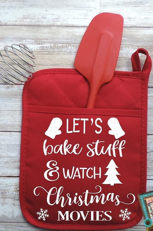 Let's bake stuff and watch Christmas Movies
