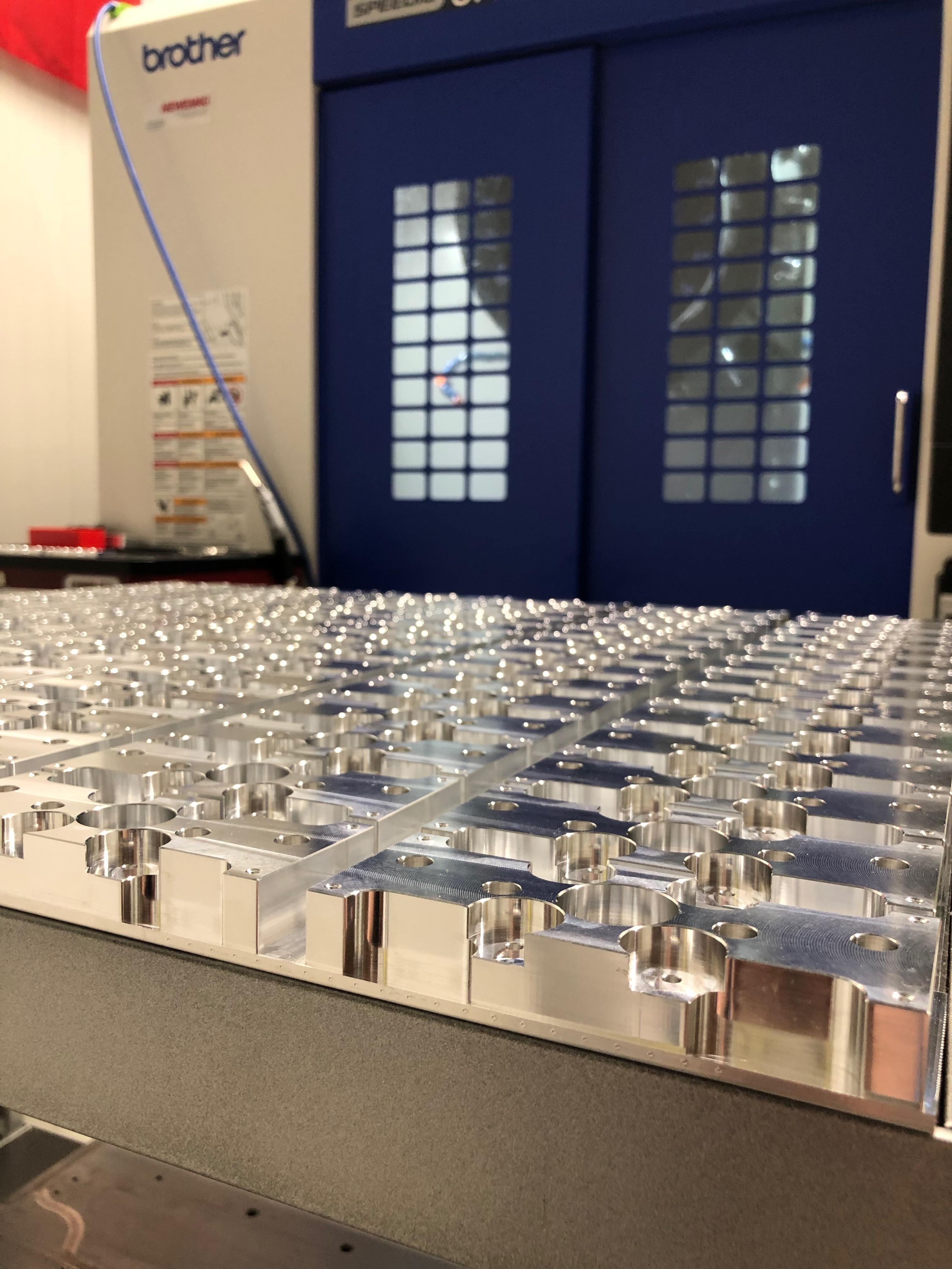 Série pièces aluminium