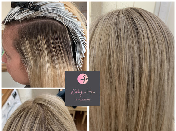 Highlights with toners