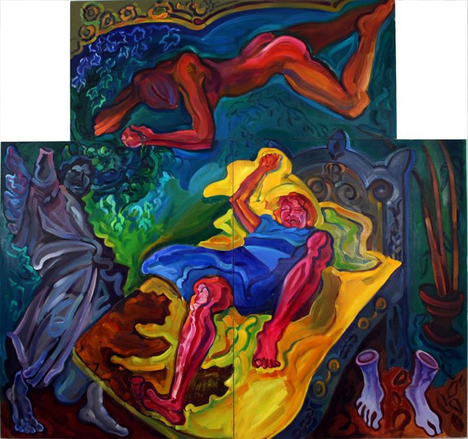 Slippery Slope Sleep and the Dark Angel