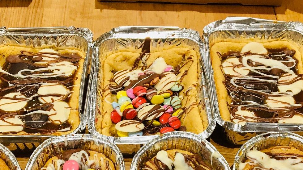 Vegan or Dairy Free Hot Cookie Doughssert