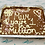 Thumbnail: Personalised Millionaire Cookie Tray