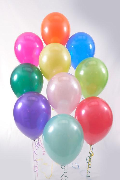 10 Individual Balloons