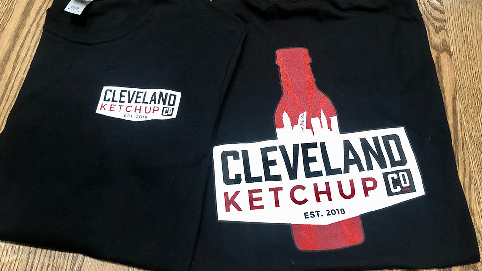 Black Cleveland Ketchup Co. T-shirt