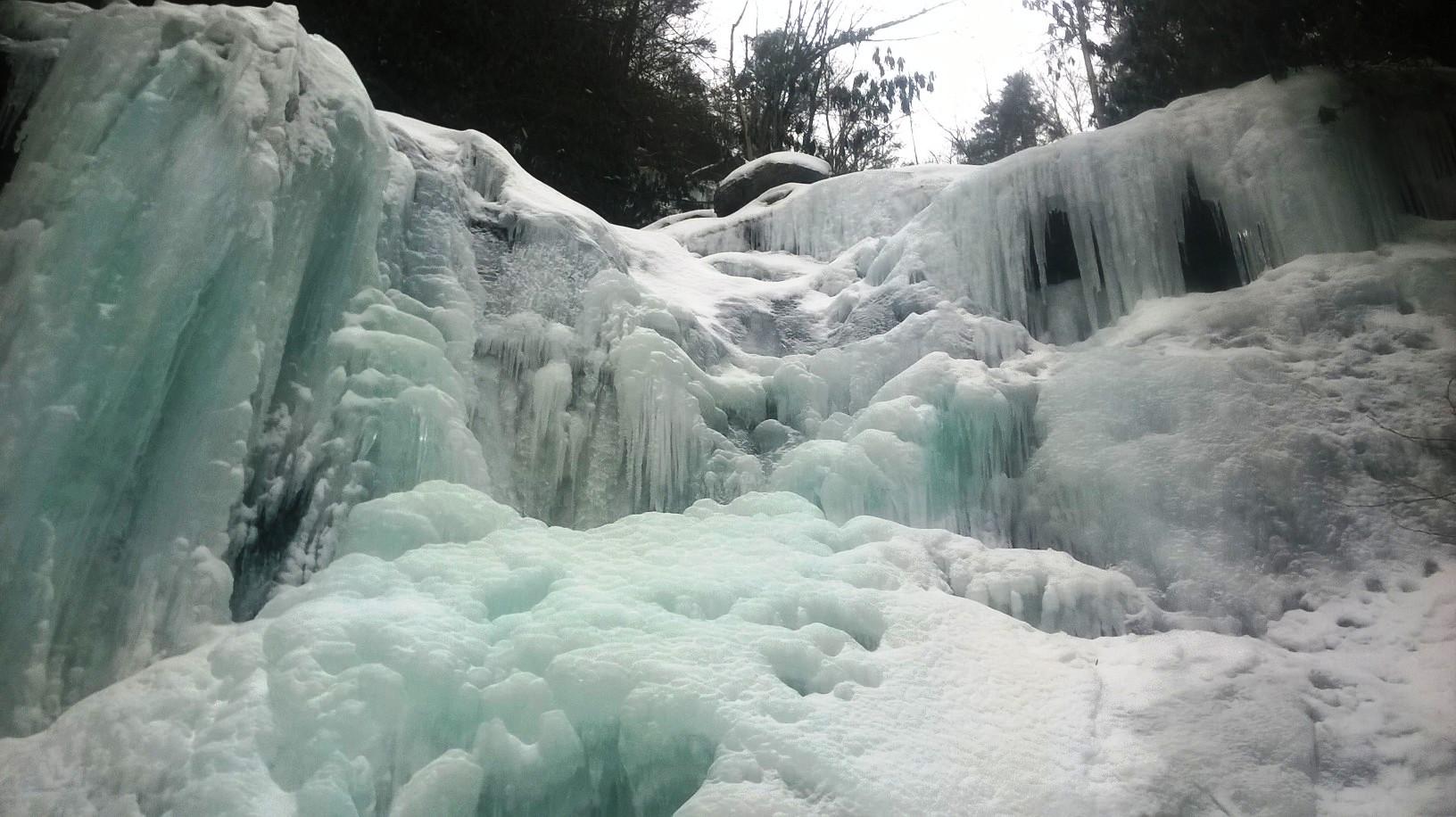 Glen Onoko Falls in Winter