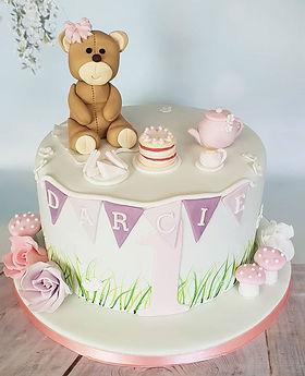 A pretty teddy bears picnic for Darcie's