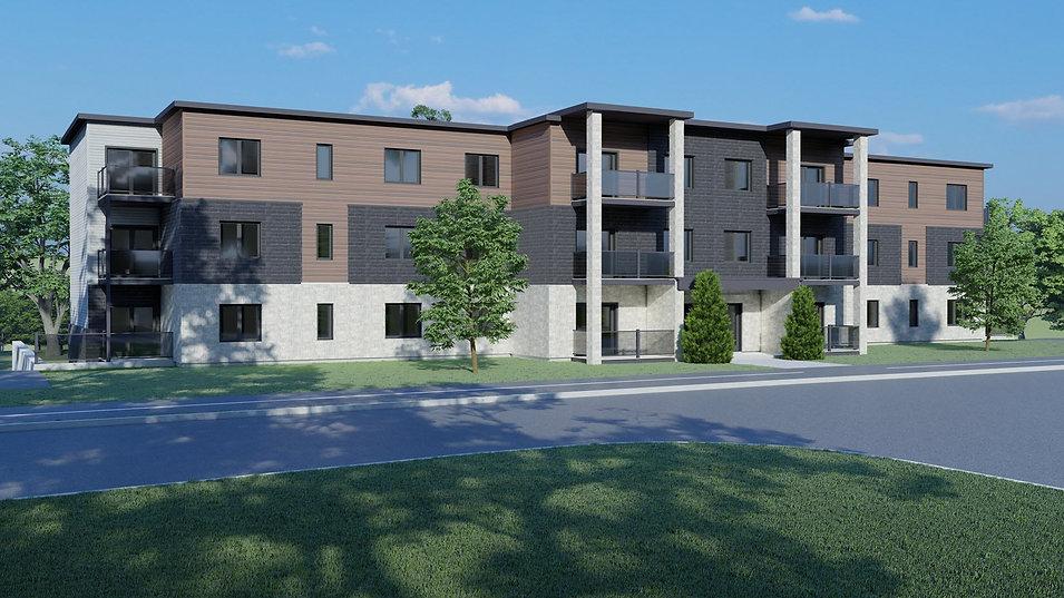 bloc appartement 30 unités