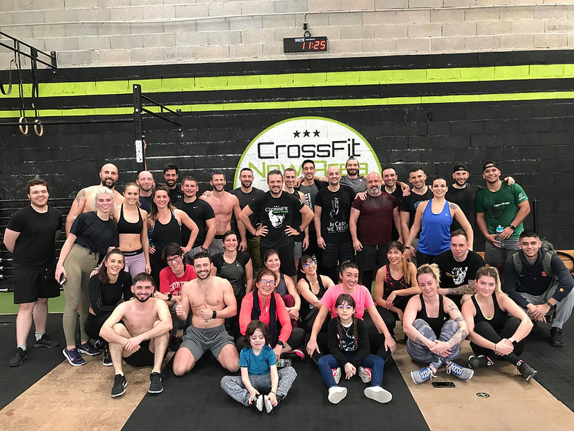 Team Crossfit new area