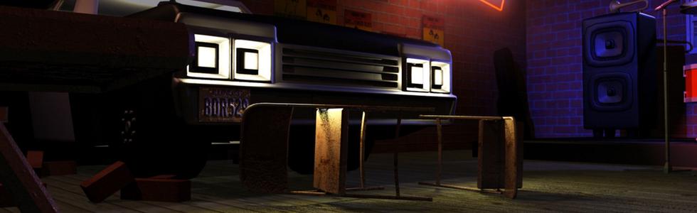 Bluesmobile Closeup
