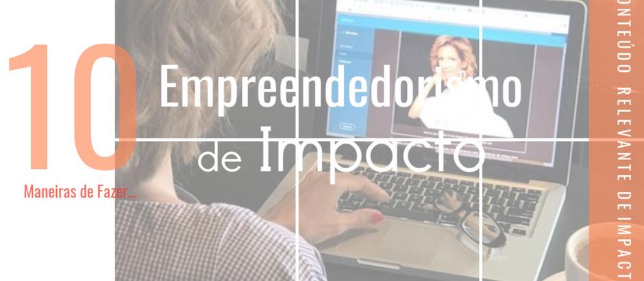 Empreendedorismo de Impacto