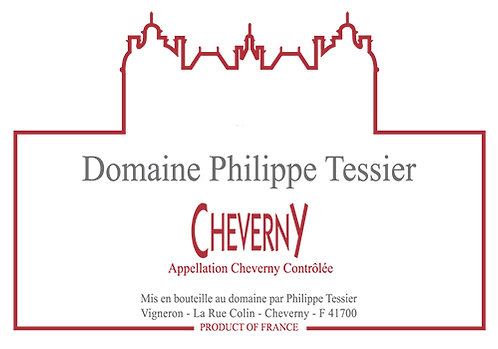 "Cheverny Philippe Tessier ""Domaine"" 75cl"