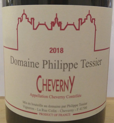 "Cheverny Philippe Tessier ""Domaine"" 2018 75cl"