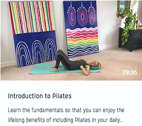 Introduction to Pilates video