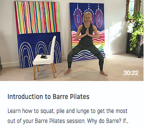 Introduction to Barre Pilates