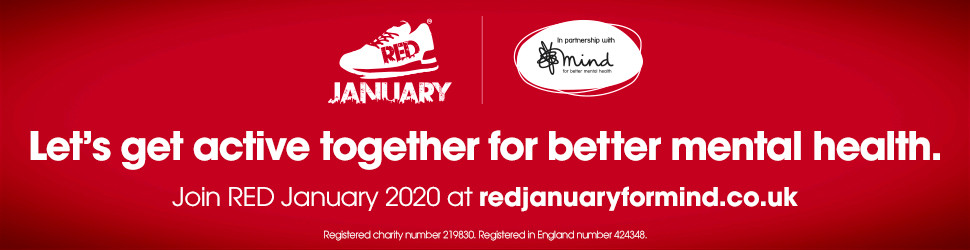 Challenge yourself and get active with Red January 2020