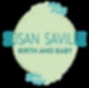 Logo_Susan Saville Birth and Baby_v1_WEB