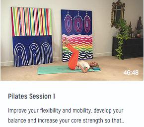 Pilates Session 1
