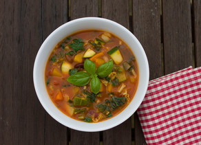 Minestrone - a bowl full of goodness.