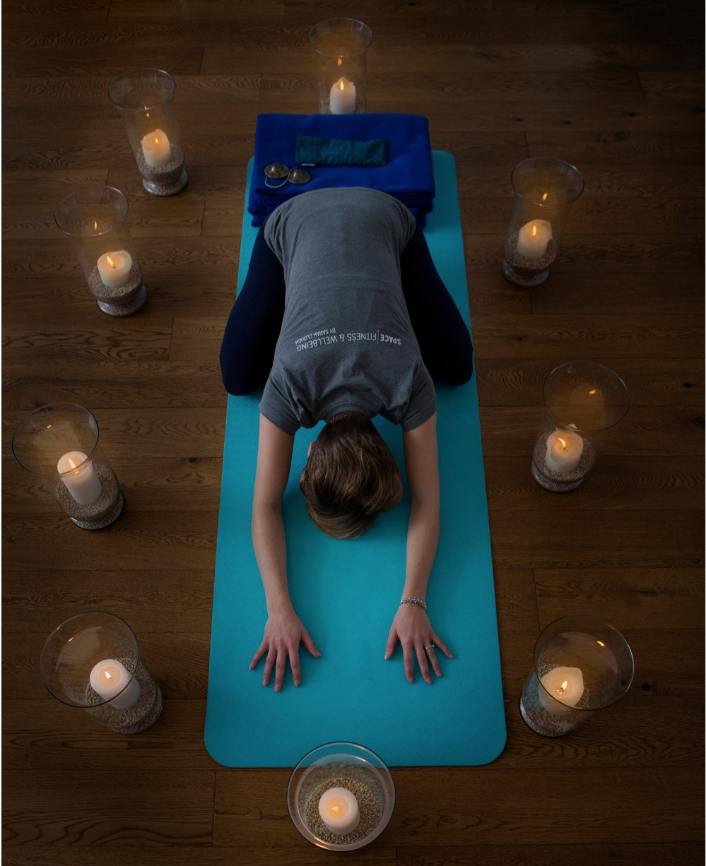 The Alternative Christmas Gift, a voucher for Candlelit Yoga Session