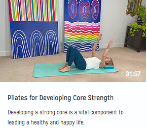 Pilates for Developing Core Strength