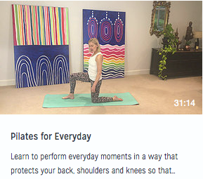 Pilates for Everyday video