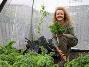 A Textile Designer with a Passion for Pilates, Allotment Growing & Gardening.