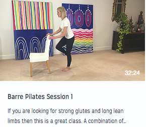 Barre Pilates Session 1