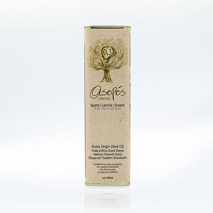 Extra Virgin Olive Oil Tin 500ml