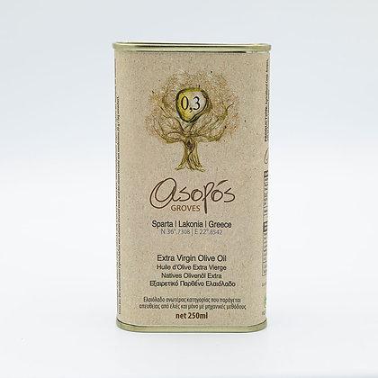 Extra Virgin Olive Oil Tin 250ml