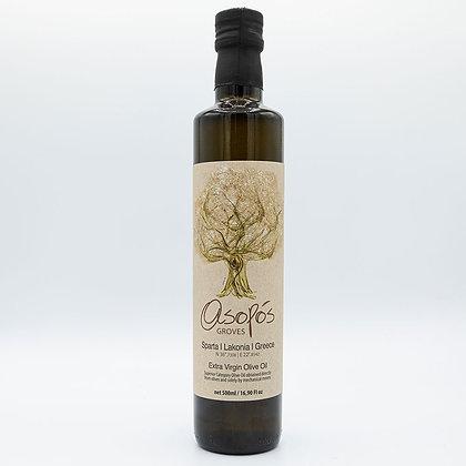 Extra Virgin Olive Oil Bottle 500ml