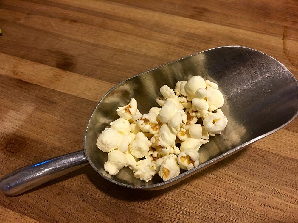 Popcorn. Healthy
